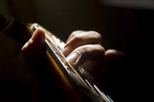 ギタリストの指